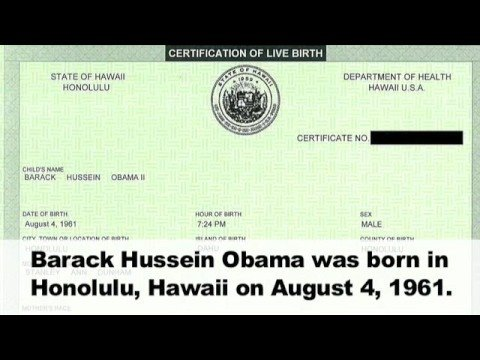 Obama: Is he a citizen?