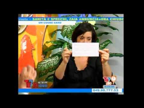 Prof. Mario Trivellato - Emittente TV 7 Triveneta - 5.5.2011