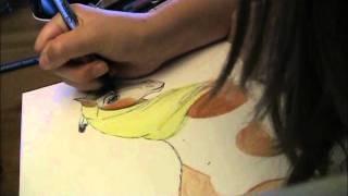 Drawing Rain (stallion of the cimmeron)