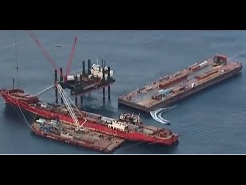 Svitzer Salvage - CP VALOUR  wreck removal