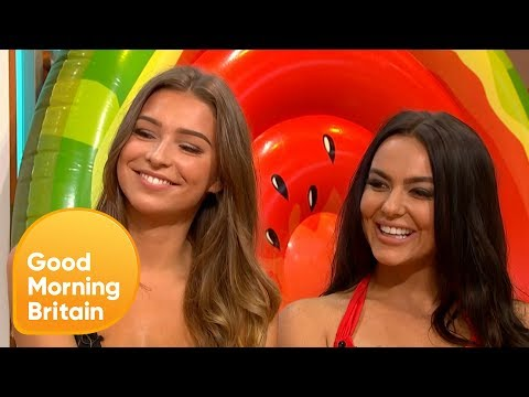 Love Island's Zara and Rosie Haven't Fallen Out Over Adam | Good Morning Britain