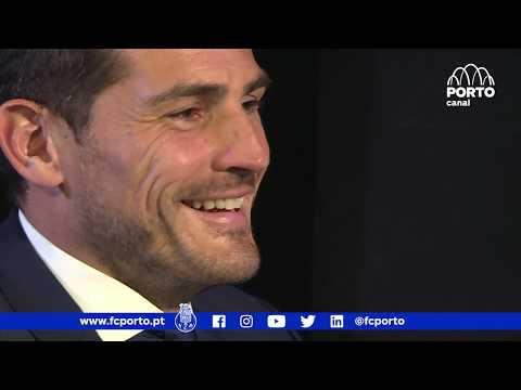 """Casillas: """"Estou muito agradecido ao FC Porto"""""""