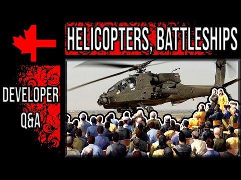 War Thunder  Developer Q&A  Helicopters Battleships Supersonic  Part 1