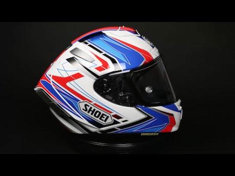 Shoei Gt Air >> Shoei X-Fourteen Assail TC-2 Helmet - YouTube