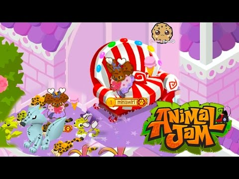 Cookieswirlc Animal Jam Online Game Play With Cookie Fans !!!! Random Fun  Video