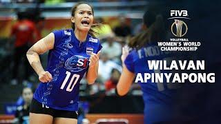 BEST Spikes Wilavan Apinyapong (วิลาวัณย์ อภิญญาพงศ์) | Thailand Volleyball World Championship 2018