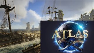 Atlas TRAILER Game Play MMO BY CREATORS OF ARK PIRATE GAME FR