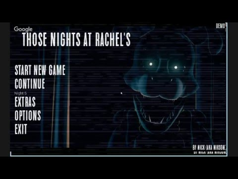 Those Nights at Rachel's LIVE