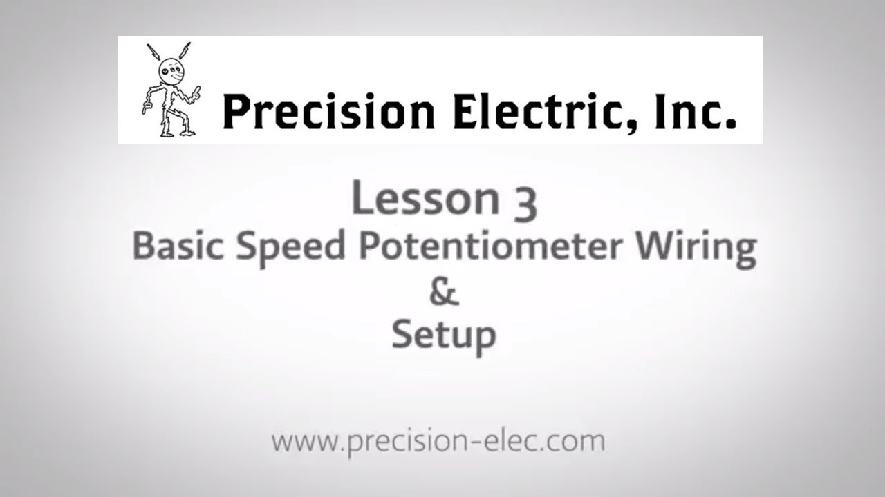 Abb Acs355 Training Lesson 3 Basic Speed Potentiometer Wiring Setup Variable Frequency Drives
