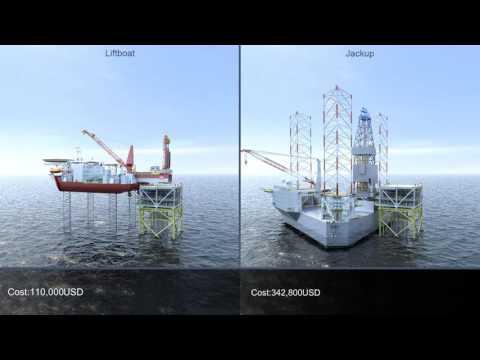 Gulf Marine Services - Jackup Vs Liftboat