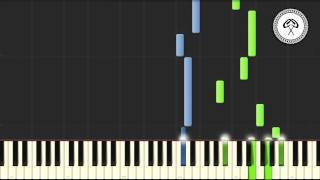 Pirates of the Caribbean - Davy Jones Piano Tutorial & Midi Download