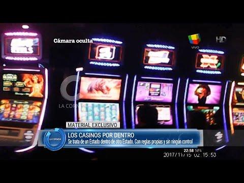 """Informe """"los casinos por dentro"""" de J.Mozo en """"La cornisa"""" de L.Majul - 29/05/16"""