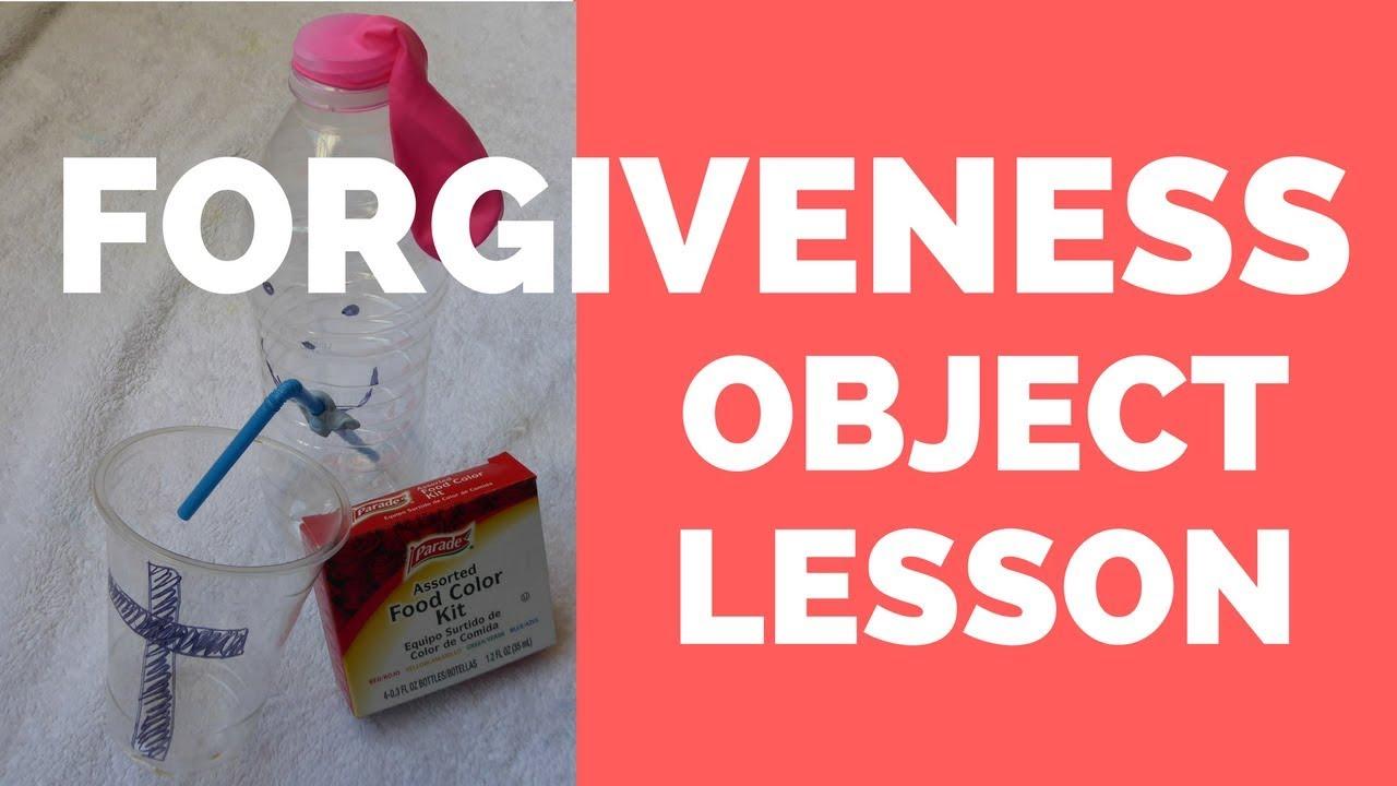 Forgiveness Object Lesson