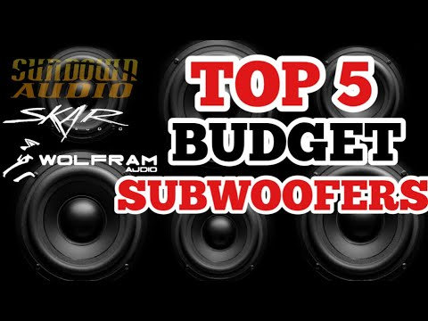 Best BUDGET Subwoofers For The MONEY 1000rms+