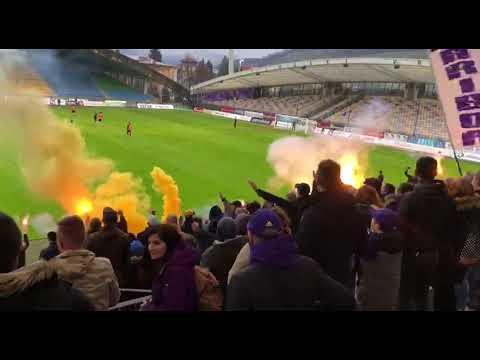 Podpora Viol nogometašem NK Maribor