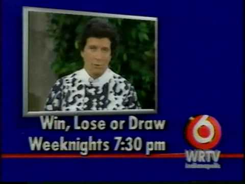 1988 - Bumper for 'Win, Lose or Draw' with Bert Convy