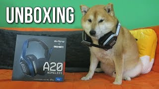 ASTRO A20 Wireless Headset Unboxing & Giveaway!