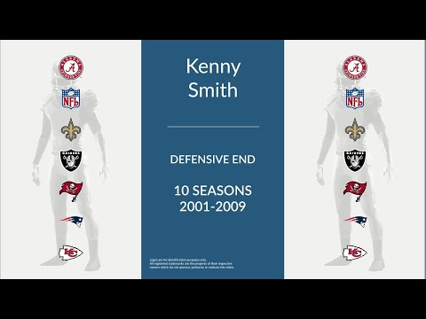 Kenny Smith: Football Defensive End and Defensive Tackle
