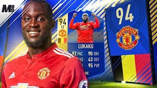 FIFA 18 TOTS LUKAKU REVIEW | 94 TOTS LUKAKU PLAYER REVIEW | FIFA 18 ULTIMATE TEAM