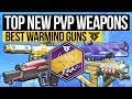 Destiny 2 | BEST WARMIND PVP WEAPONS! - New Best Weapons for Crucible in Warmind DLC & Season 3!