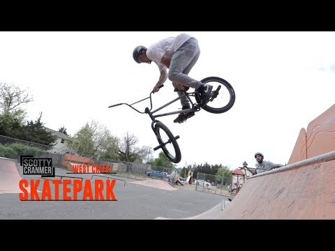RIDING THE MYSTERY SKATEPARK WITH PINK RAMPS!