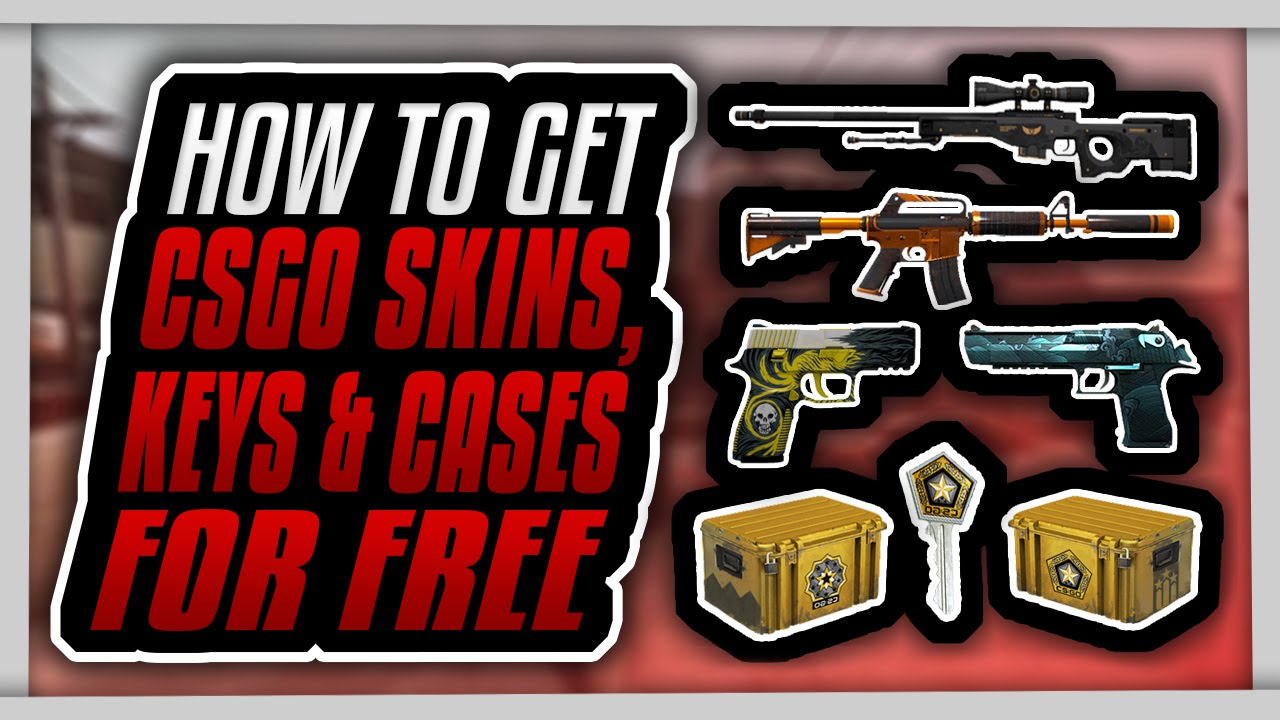 How to get FREE CSGO Skins, Knives, Keys, Cases & more within 24 hours! (NO  GAMBLING)