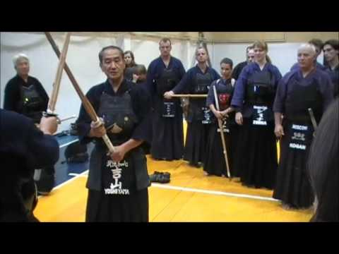 Kendo kihon 3 - Yoshiyama Sensei
