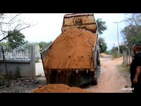 รถบรรทุกหกล้อ รถดั้มหกล้อเทดิน ดั้มดิน คลิปสั้นแต่มันส์มาก Truck Thailand