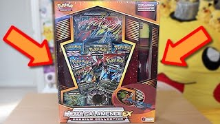 Opening A Mega Salamence Premium Collection Box!!
