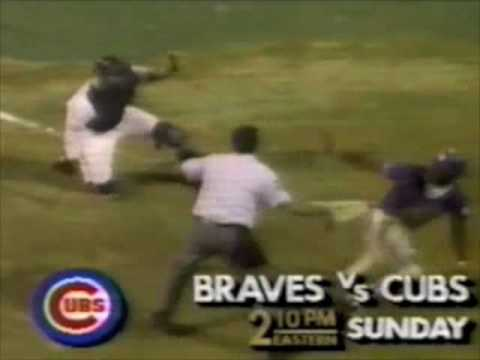 TBS Braves vs. Cubs promo - 1988