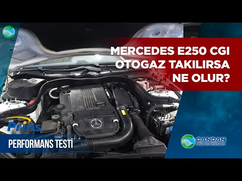 Yok Artık !! Mercedes E250 CGI ye Otogaz Takılırsa Ne Olur ♻Prins VSI2 Otogaz Performans Testi