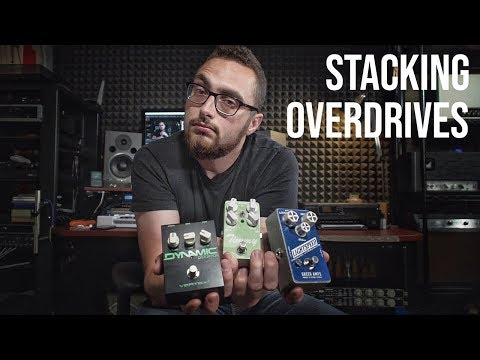 How To Stack Overdrive Pedals (You Need To Be Doing This)
