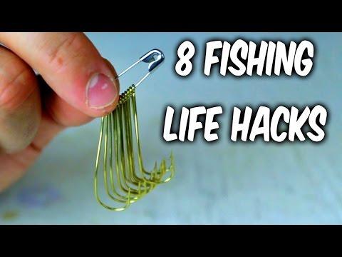 8 Fishing Life Hacks