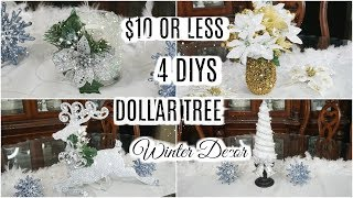 DIY WINTER DECORATIONS FOR $10 OR LESS COLLAB | PETALISBLESS