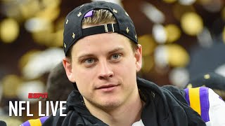 Joe Burrow will have to overcome the NFL's mental hurdle quickly - Marcus Spears | NFL Live