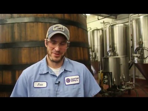 Jace Marti of August Schell Brewing Co. is guest brewer for Bell's 2015 Eccentric Ale