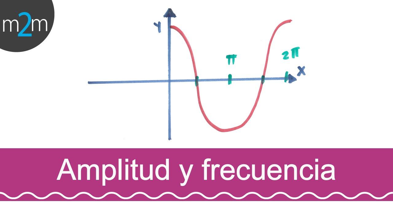 Amplitud - frecuencia de una función seno y coseno - YouTube