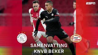 Ajax en PSV strijden in topper om ticket halve finale KNVB Beker | TOTO KNVB Beker | Samenvatting