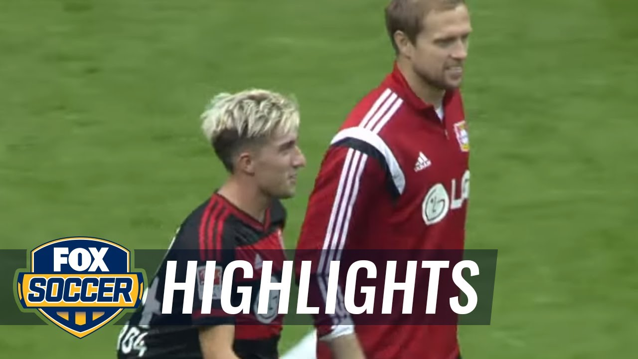 Leverkusen Bremen Highlights