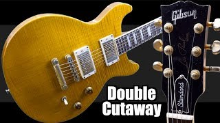 Where Did the DC LP Come From? | 1998 Gibson Les Paul Doublecut Standard Trans Amber | Review + Demo