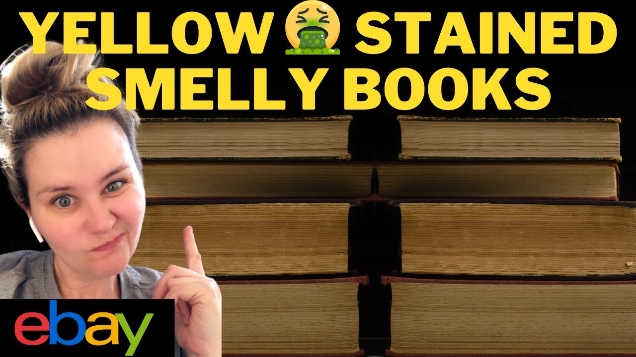 SELLING BOOKS ONLINE 📖 What is FOXING on books and HOW to store books