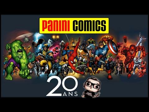 Panini Comics France : 20 ans - HORS-SÉRIE