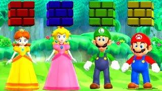 Mario Party 9 - Minigames - Mario vs Luigi vs Peach vs Daisy (Master CPU) thumbnail