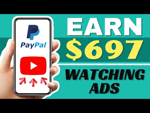 Earn FREE PayPal Money For Watching Ads - 2021 (Make $697 Online)
