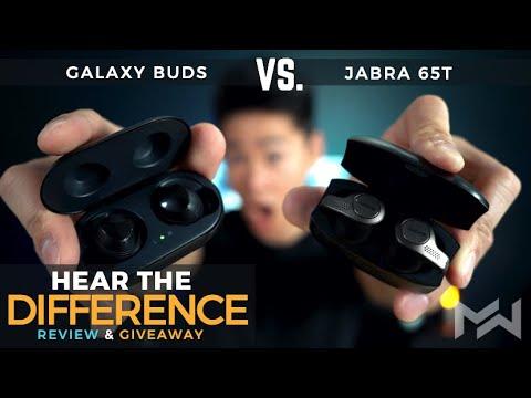 Galaxy Buds vs Jabra Elite 65t True Wireless Earbuds Review - The ULTIMATE  COMPARISON!