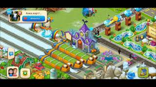 ТАУНШИП город и ферма #567  Знакомство с моим городом  Игровое видео
