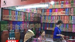 Lao NEWS on LNTV: The Lao-Thai Trade Exhibition/Thailand Week opens in Vientiane.7/5/2015