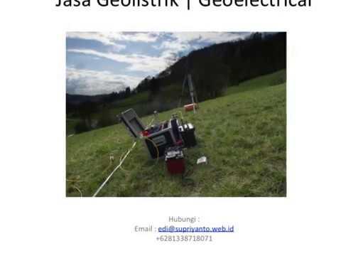 Jasa Geolistrik | Geo Electric Kabupaten Konawe-Unaaha Sulawesi Tenggara