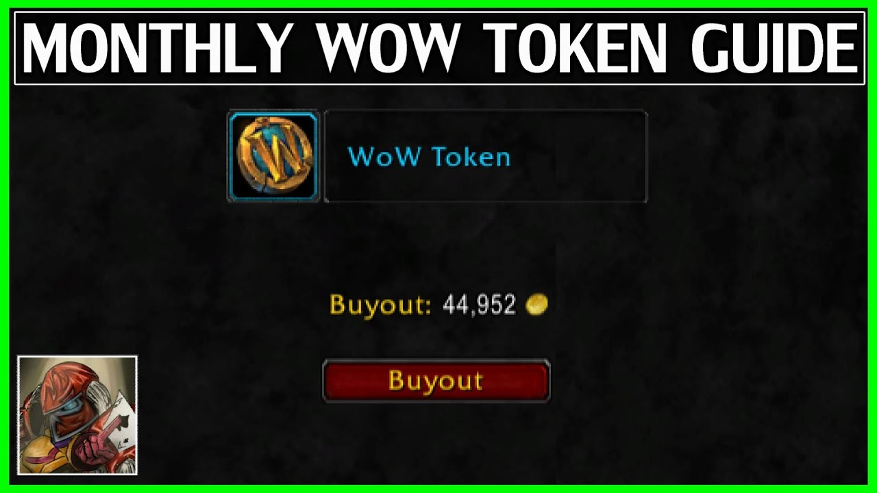 Wow tokens faq