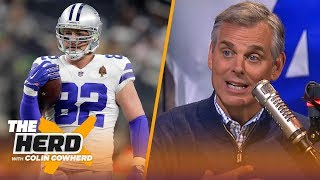 Colin Cowherd reacts to Witten coming out of retirement, analyzes impact on Cowboys   NFL   THE HERD